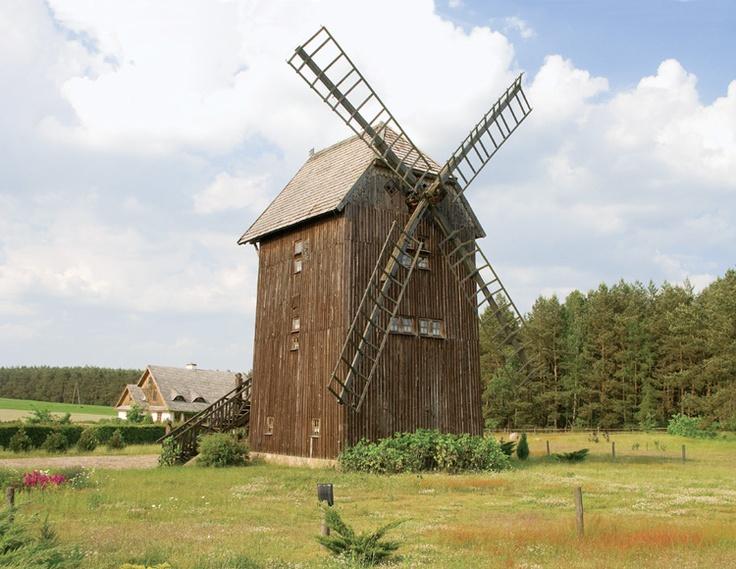 Windmill, Uroczysko Zaborek, Park Krajobrazowy Podlaski Przełom Bugu / Poland