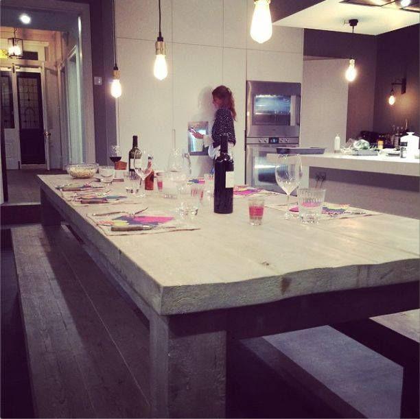 Hudson reclaimed wood dining table #eatsleeplive #reclaimedwood #handmade