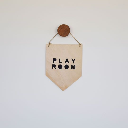 Made By Mee + Co | Playroom Ply Banner