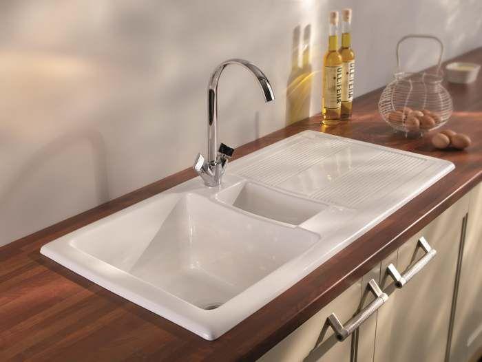 1000 ideas about ceramic kitchen sinks on pinterest. Black Bedroom Furniture Sets. Home Design Ideas