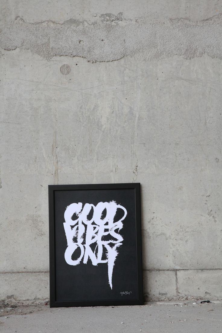 """Good vibes"" Print: Ylva Skarp  Photo: Susanne Kings"