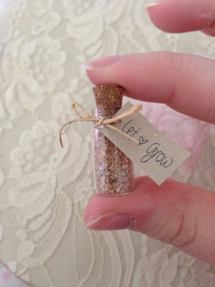 Shabby chic 'let love grow' wedding favour. by DaisysCraftyDesigns, £1.00