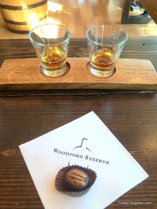 Bourbon tasting at Woodford Reserve in Kentucky- yes, please!