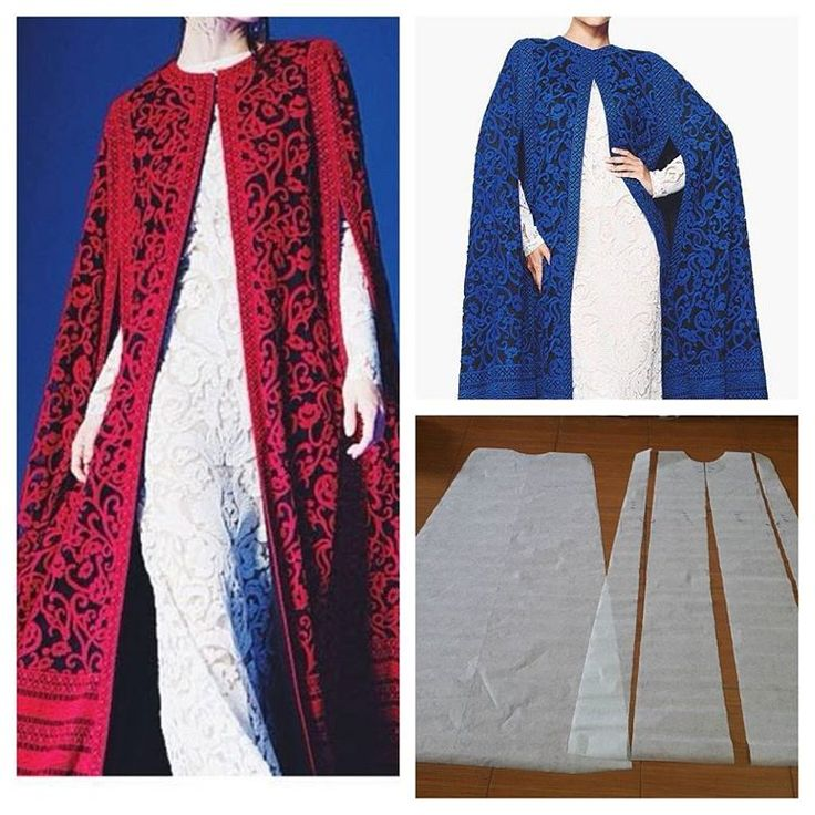 "74 Likes, 2 Comments - Jasa Pembuatan Pola Pakaian (@modellistepattern) on Instagram: ""Best seller kaftan cape pattern   Order via line : @modelliste (with @)…"""
