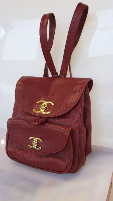 6038e7af3cf1 Attualmente nelle aste di  Catawiki  Chanel Zaino - Vintage   Bags ...