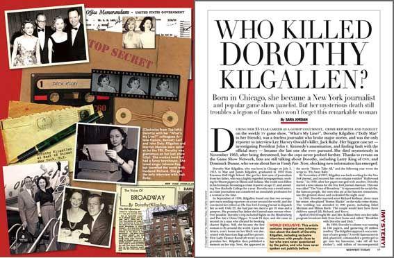 Who Killed Dorothy Kilgallen?