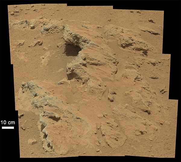 Gale Crater - Orbital View