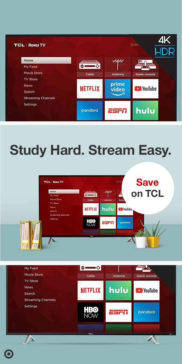Smart-en your dorm room with a TCL  Liven up your college life with
