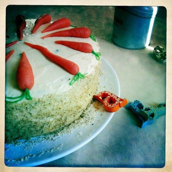 Carrot cake alias Mrkvový dort