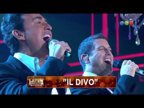 "Gala, ""Il divo"" canta en ""Laten..."" - Laten Corazones - YouTube"