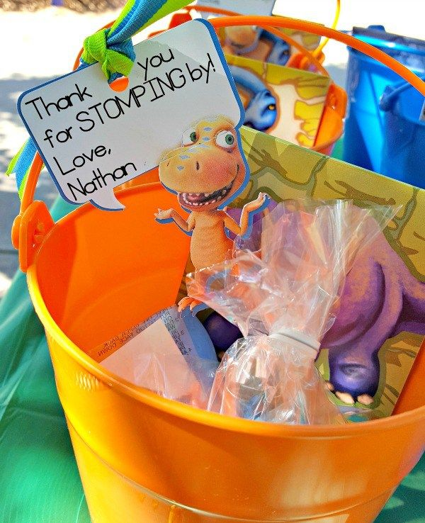 Dinosaur Themed Birthday Party!  Ideas for food, activities,and party favors!