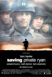 "Saving Private Ryan (1998)  This is hard movie to watch but Tom Hanks is amazing in it.  The scene where he tells that he is a English teacher is touching, how he's ""not sure if his wife will reconize him.""  This  movie makes you feel like you are landing in 1944 Normandy but the feelings and problems of war also come across as timeless issues."