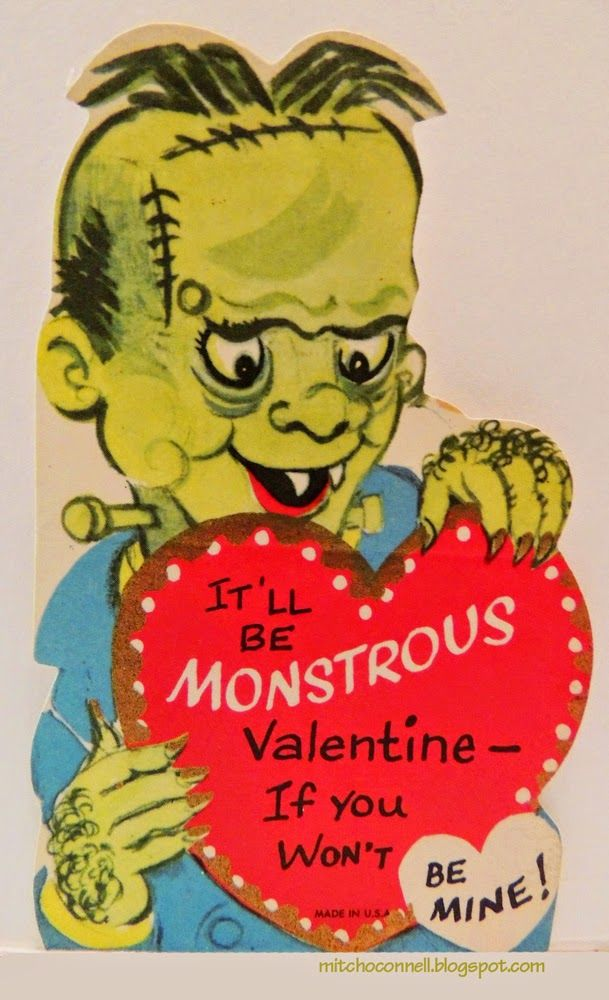 Mitch Ou0027Connell: The Top 100 Most Strange, Odd, Perplexing And  Unintentionally Funny Vintage Valentine Cards EVER!