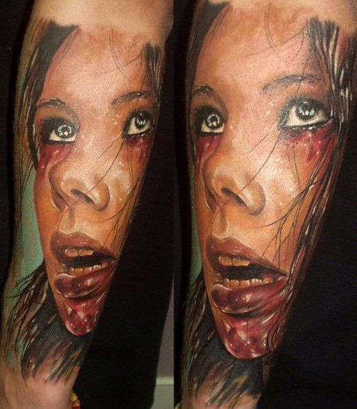 Kerry King Slayer Tattoos: Igor Slayer Tattoos