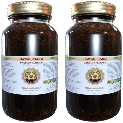Passion Flower Liquid Extract Organic Passion Flower Passiflora Incarnata Tincture Supplement 2x32 Oz Herbalism Liquid Extract Herbal Supplements