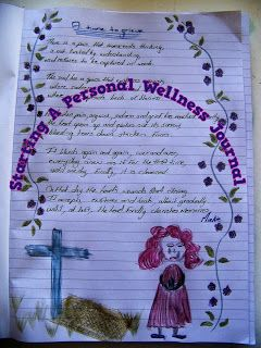 A Pretty Talent Blog: Starting Your Own Wellness Journal 1