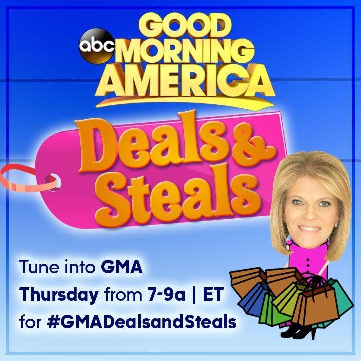 Good morning america deals and steals lisa stewart
