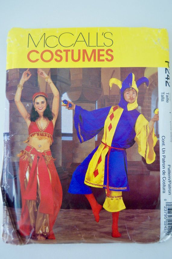 Belly Dancer & Jester Costumes  McCalls P242 / by Boxtreasures