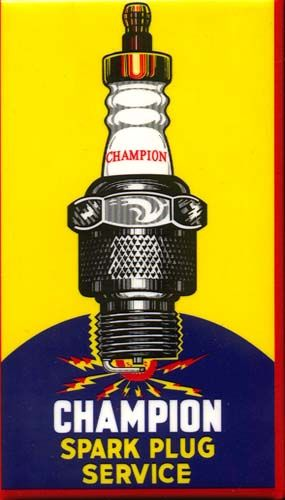 Automobilia On-Line Catalog - New Spark Plugs for Old Cars