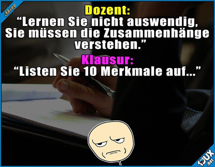 Leider muss man es doch... : #Studium #sowahr #Studentenleben #Humor #Sprüche #Studentlife #Memes #Statusmeldungen #Status