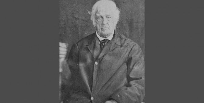 Photo of Lemuel Cook, who fought in the 1775 American War of Independence.