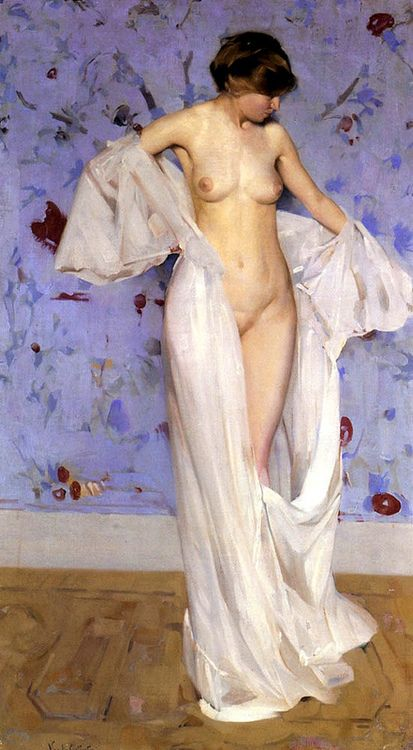A Repository of Paintings | thefineartnude: Constantini Virgilio (1882 -...