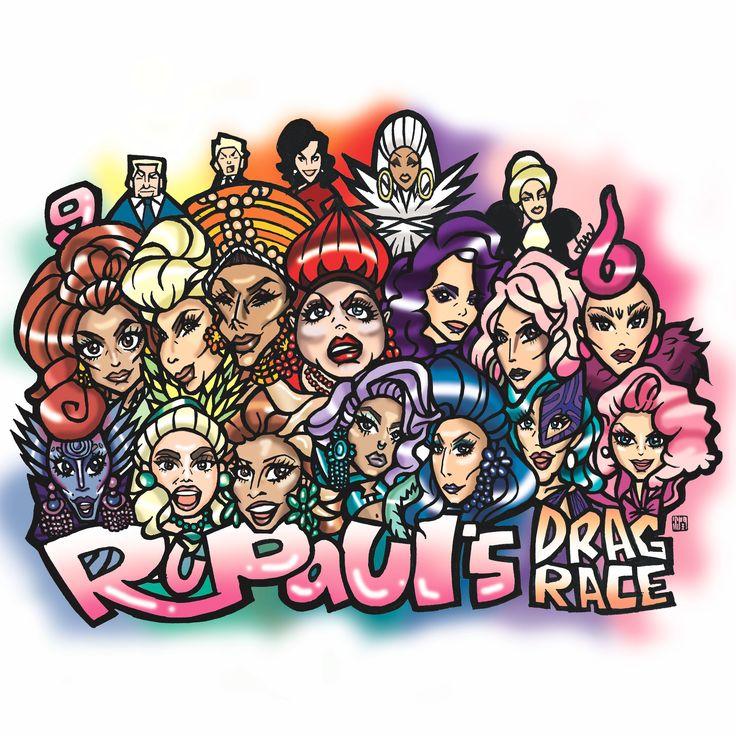Rupaul's Drag Race Season 9 #rupaul #dragqueen #nyc