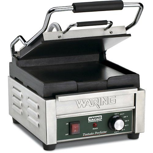 Waring Commercial WPG150 Compact Italian-Style Panini Grill    http://industrialsupply.mobi/shop/waring-commercial-wpg150-compact-italian-style-panini-grill/