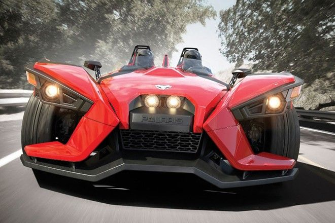 ポラリス・スリングショット - 海外ニュース   オートカー・デジタル - AUTOCAR DIGITAL
