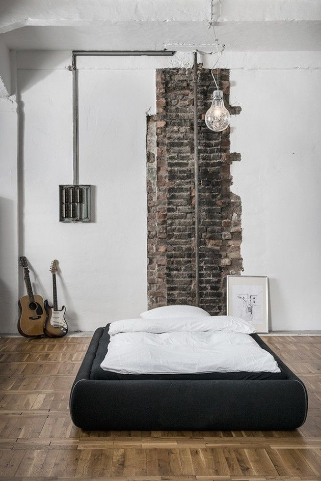 25 best ideas about industrial bedroom design on pinterest industrial bedroom industrial. Black Bedroom Furniture Sets. Home Design Ideas