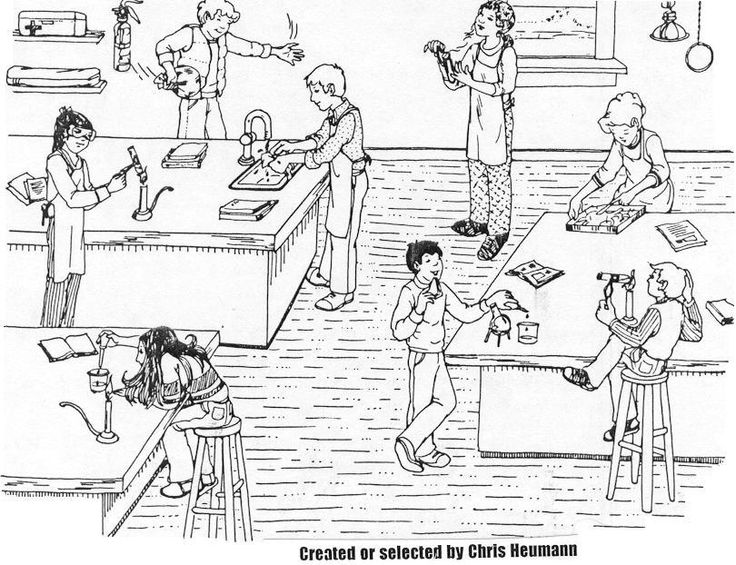Worksheets Lab Safety Cartoon Worksheet 1000 images about teaching lab safety on pinterest scenarios more