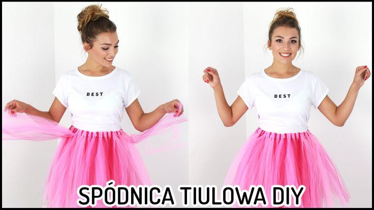 Tiulowa spódnica DIY bez szycia! ❤