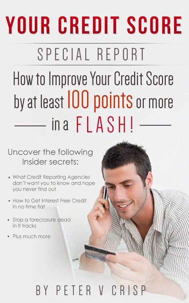 FREE INFORMATION and in this 70 plus page report you will learn •	where and how to get good credit  •	how to STOP a foreclosure . How reporting company's work and how to  maximize your score. Where get a low interest loans and  avoiding harassment from creditors.  Even if you already have good a score these tips will ensure you keep your credit that way. If you do not then learn how to rebuild your credit so you never get a bad score again.  GET FREE INFO. from…