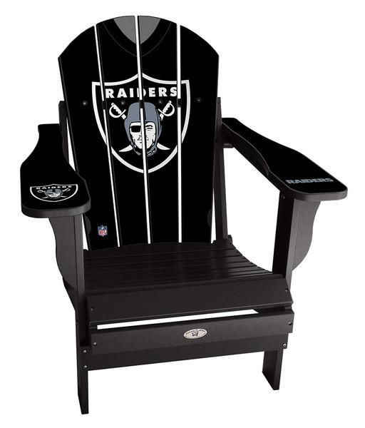 oakland raiders chair sesame street table and chairs canada custom available on our site nfl football oaklandraiders summer homedecor