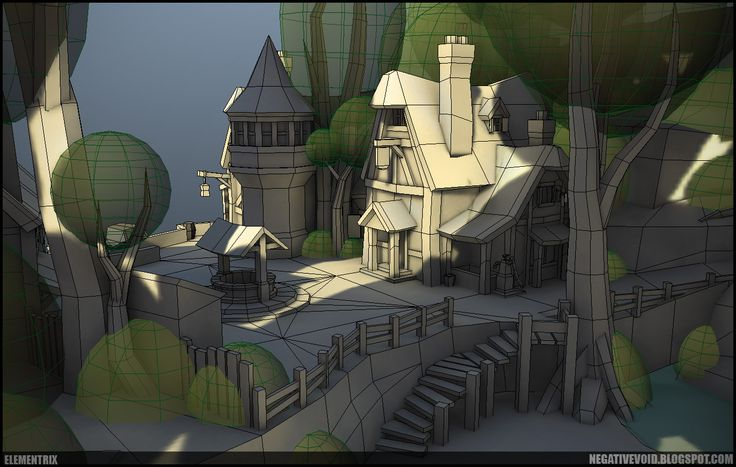 New Approach to Handpainted Environments - Page 4 - Polycount Forum ★ || CHARACTER DESIGN REFERENCES | キャラクターデザイン  • Find more artworks at https://www.facebook.com/CharacterDesignReferences & http://www.pinterest.com/characterdesigh and learn how to draw: #3D #rigging #animation #topology #modeling || ★