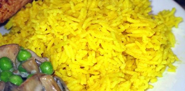 Indian Golden Basmati Rice Recipe Picture
