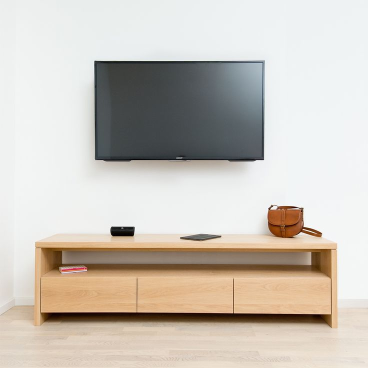 TV cupboard oak - barlang muhely