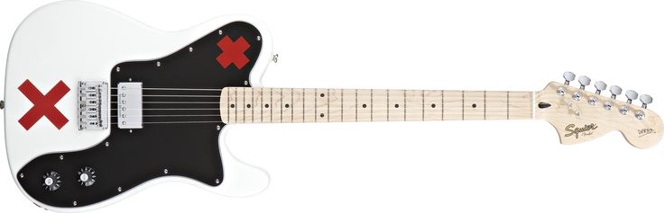 Deryck Whibley Telecaster®, Maple Fingerboard, Olympic White