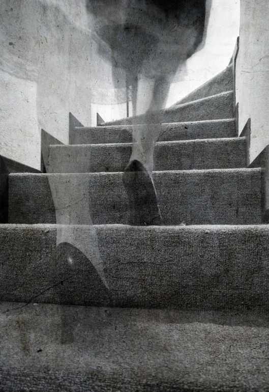 "Saatchi Online Artist: Laura Melis; Black & White, Photography ""Stairs #2"""