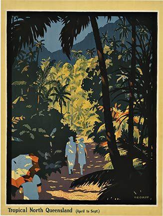 Percy Trompf (1902-1964): 1930. Tropical North Queensland.