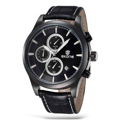 SKONE 1197 Fashion Men Quartz Watch