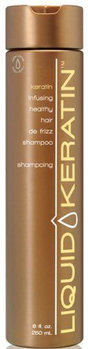 Liquid Keratin Keratin Infusing Healthy Hair De-Frizz Shampoo 8 oz by Liquid Keratin ** Click on the image for additional details. #hairdresser