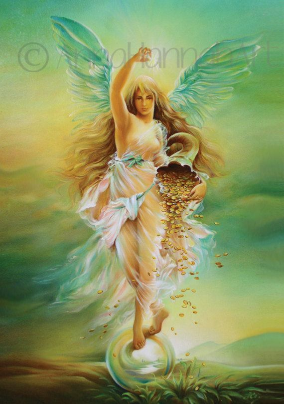 """ANGEL OF ABUNDANCE"" - ""Fortune"""
