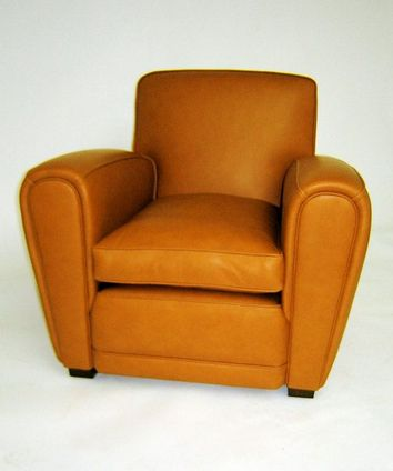 Henry Leather Club Armchair - £1,950.00 - Hicks and Hicks
