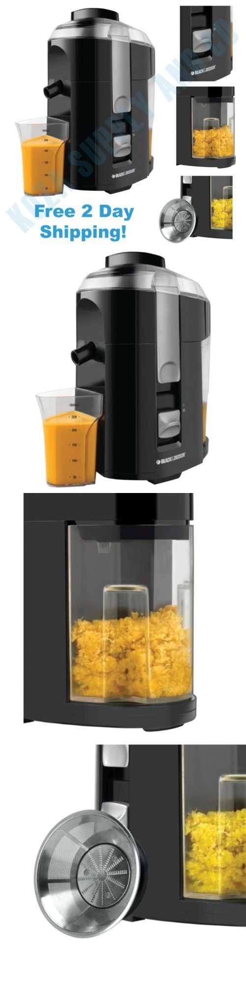 Small Kitchen Appliances: Electric Juice Extractor Machine Fruit And Vegetable Juicer Fresh Maker Squeezer -> BUY IT NOW ONLY: $48.24 on eBay!