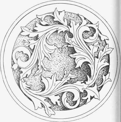 Fig. 102. Design for Salver.