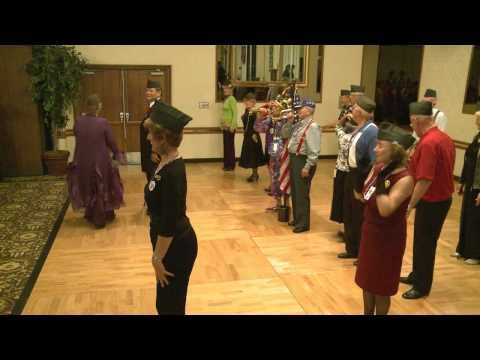 Flash Mob Dance to Andrew Sisters Boogie Woogie Bugle Boy at Fresno Mardi Gras Jazz Festival