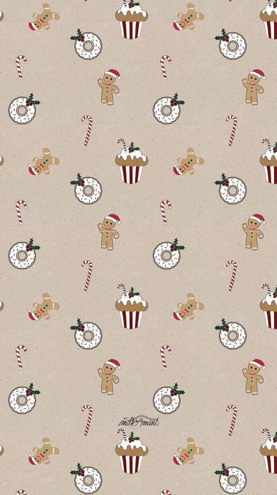 Christmas Pattern Christmas Background Holiday Wallpapers Fantasie Natalizie Sfondi Iphone Sfondo Natalizio
