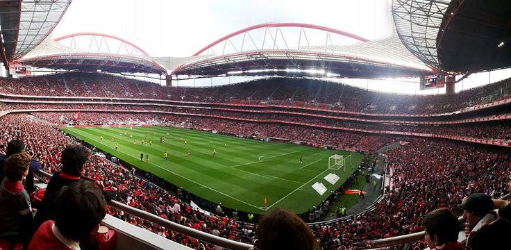Estádio da Luz, época 2013/2014, Benfica 2 (Luisão e Rodrigo), Estoril 0.