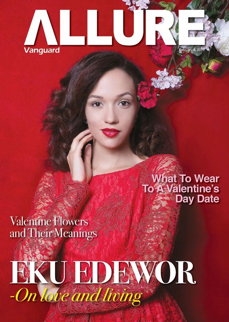 Valentine Special As Eku Edewor Features In Vanguard Allure Magazine Cover